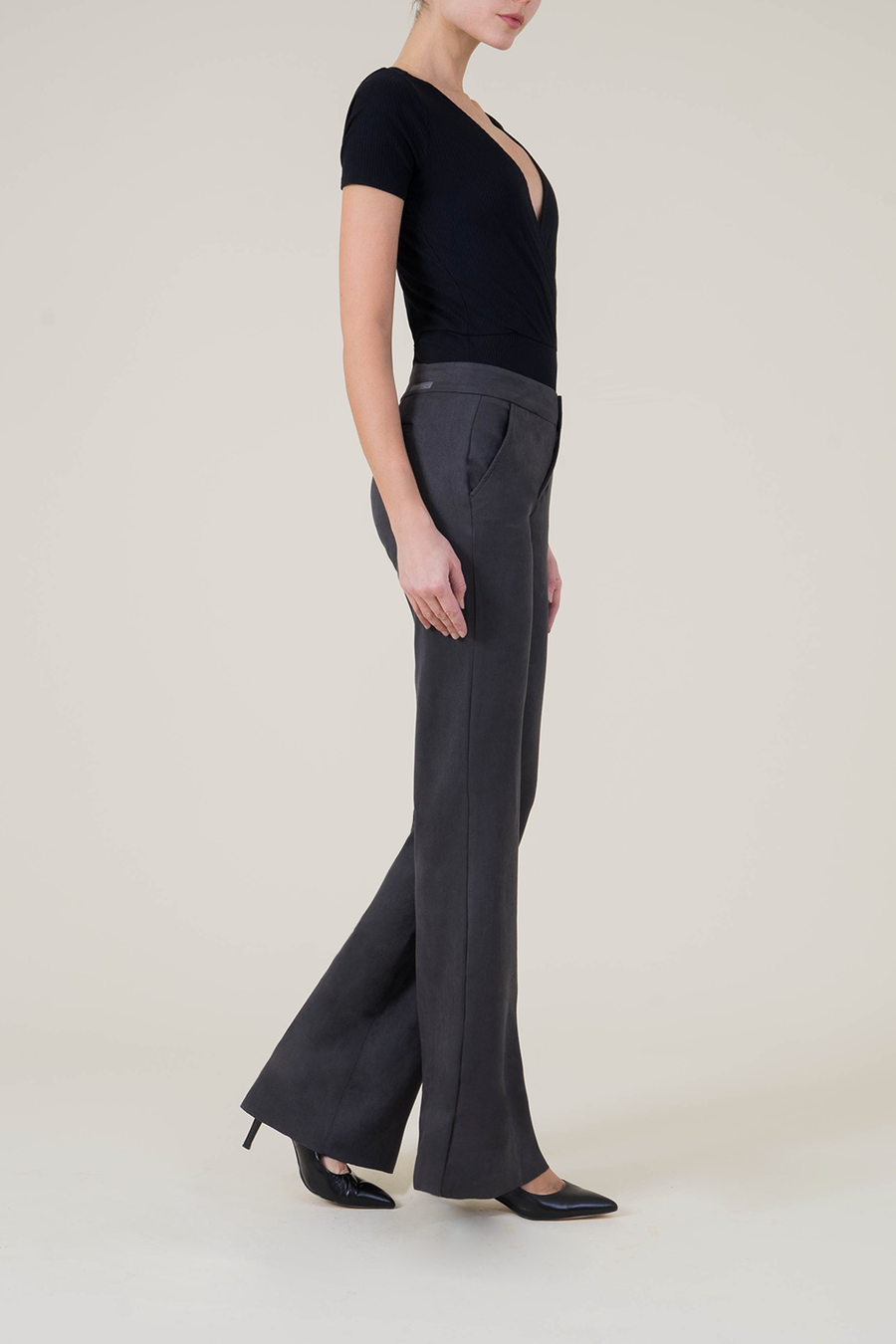 Newport Wide Leg Trouser - level99jeans