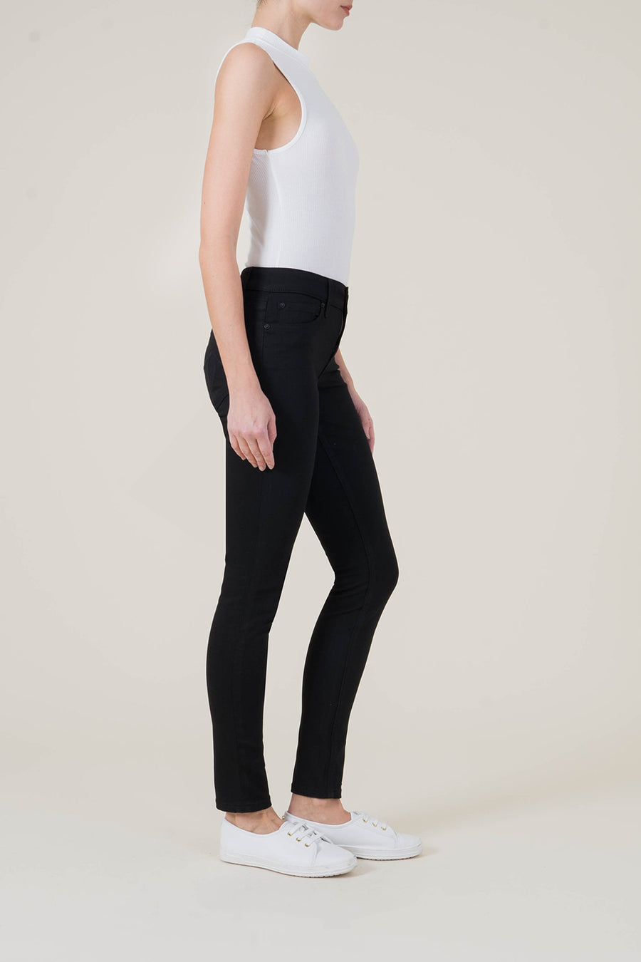 Liza Mid-Rise Skinny - level99jeans