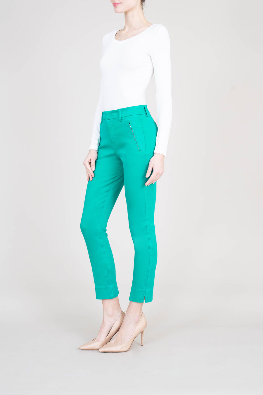 Francis Lacey Double Welt Zip Trouser - level99jeans