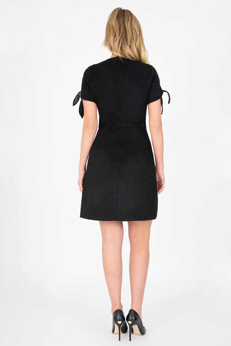 Aylin Tie Sleeve Dress