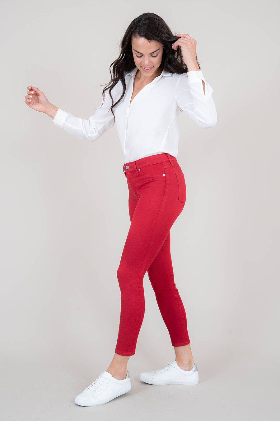 Madison Midrise Skinny - level99jeans