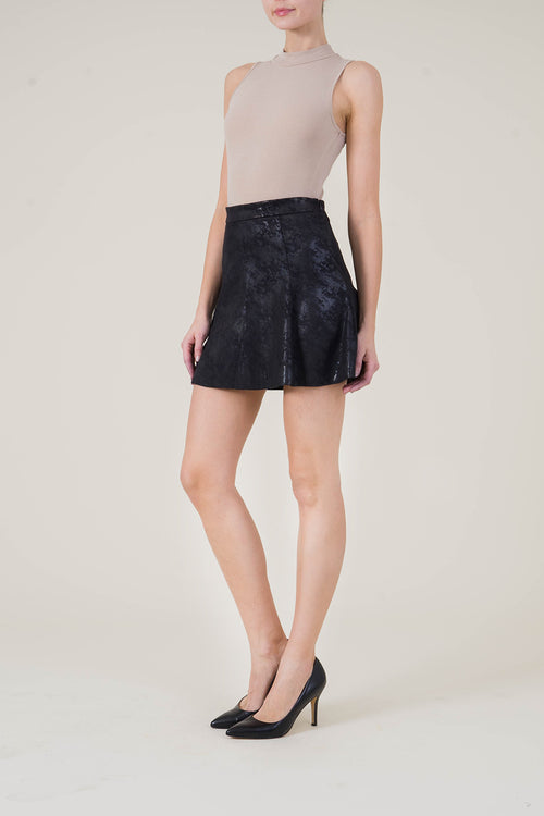 Kenzie Faux Suede Mini Skirt