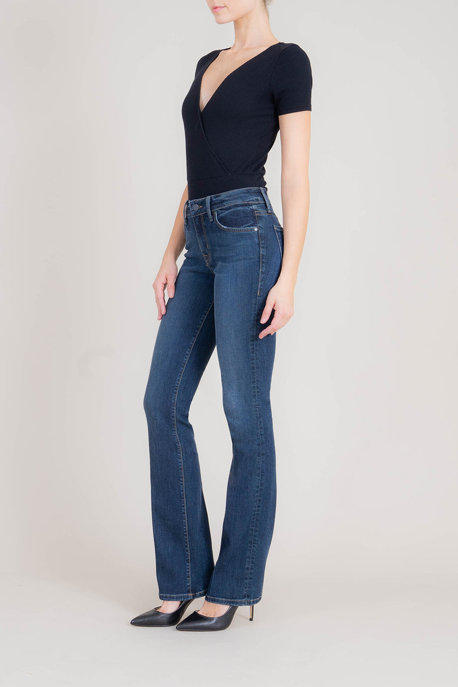 Sasha Midrise Mini Boot - level99jeans