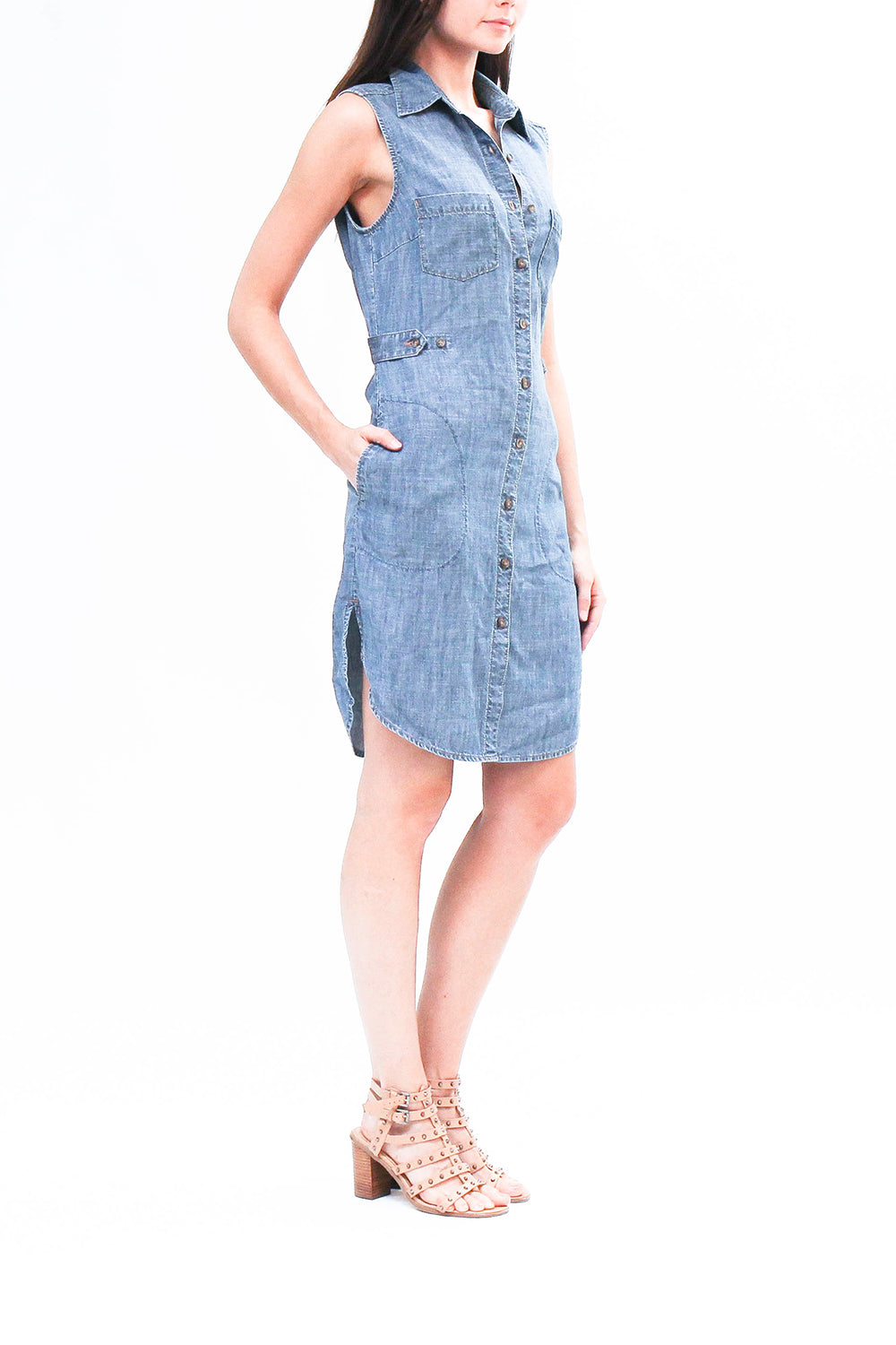 Level 99 Chambray Dress