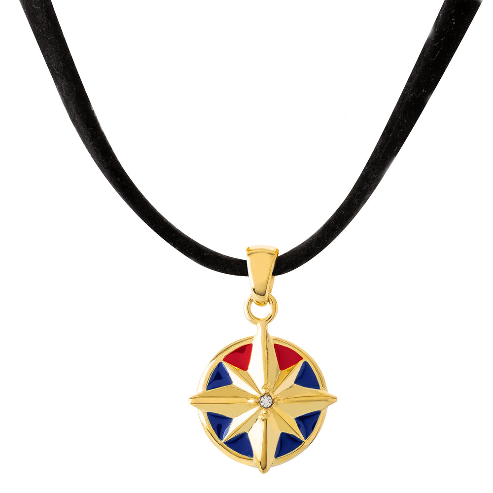 MARVEL'S CAPTAIN MARVEL Enamel Star Choker