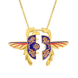 DISNEY'S ALADDIN Unlocking Scarab Necklace