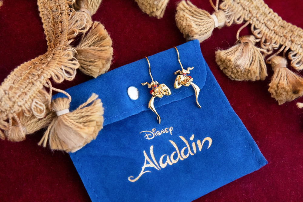 DISNEY'S ALADDIN Dangling Abu Earrings