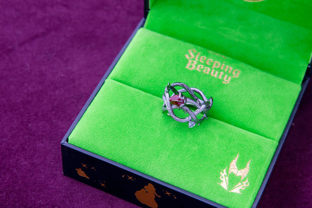 DISNEY'S SLEEPING BEAUTY Briar Rose Ring - Band