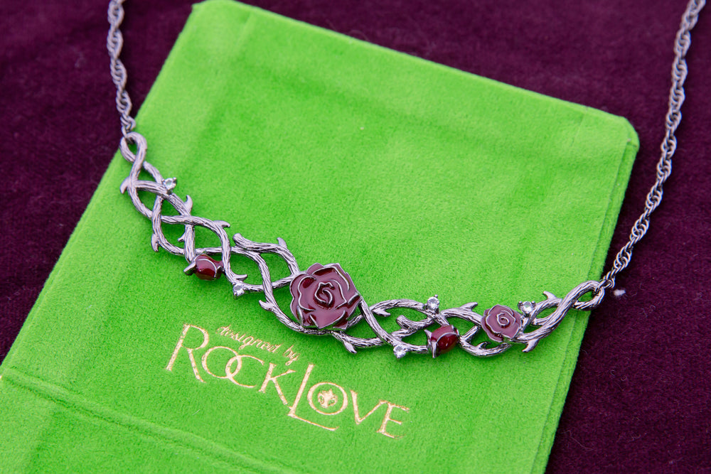 Disney X RockLove SLEEPING BEAUTY Briar Rose Collar
