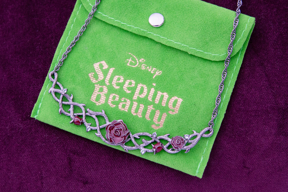 DISNEY'S SLEEPING BEAUTY Briar Rose Collar