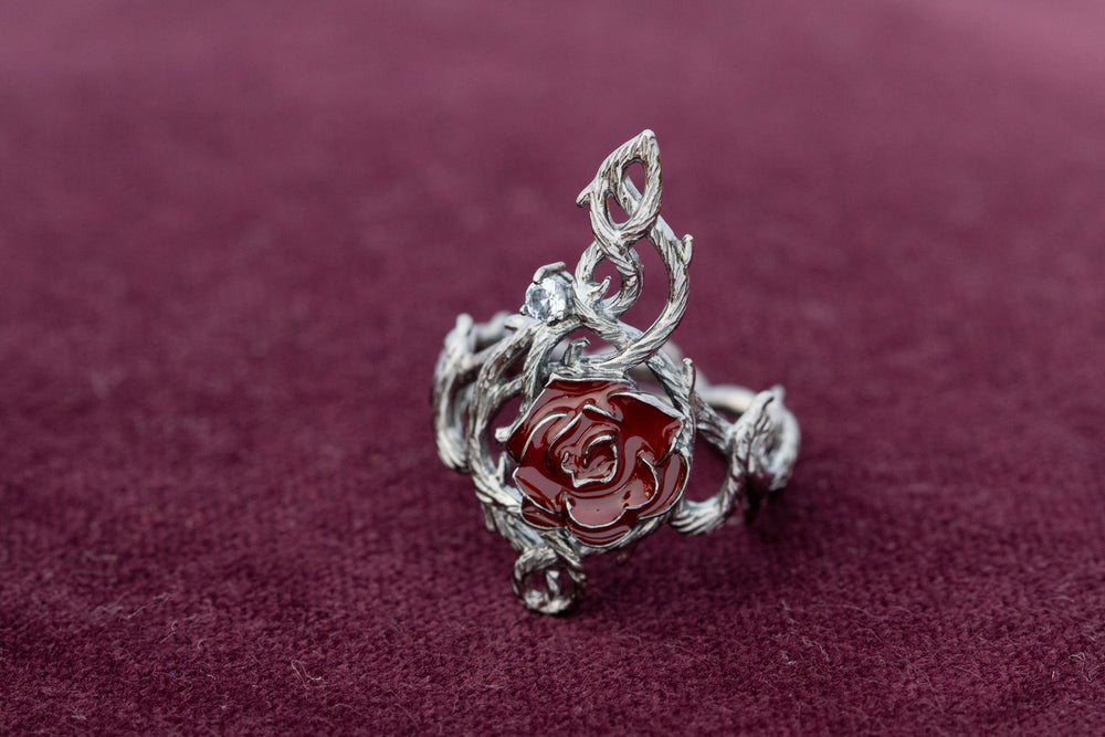 DISNEY'S SLEEPING BEAUTY Briar Rose Ring - Tall