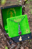 Disney X RockLove SLEEPING BEAUTY Briar Rose Pendant