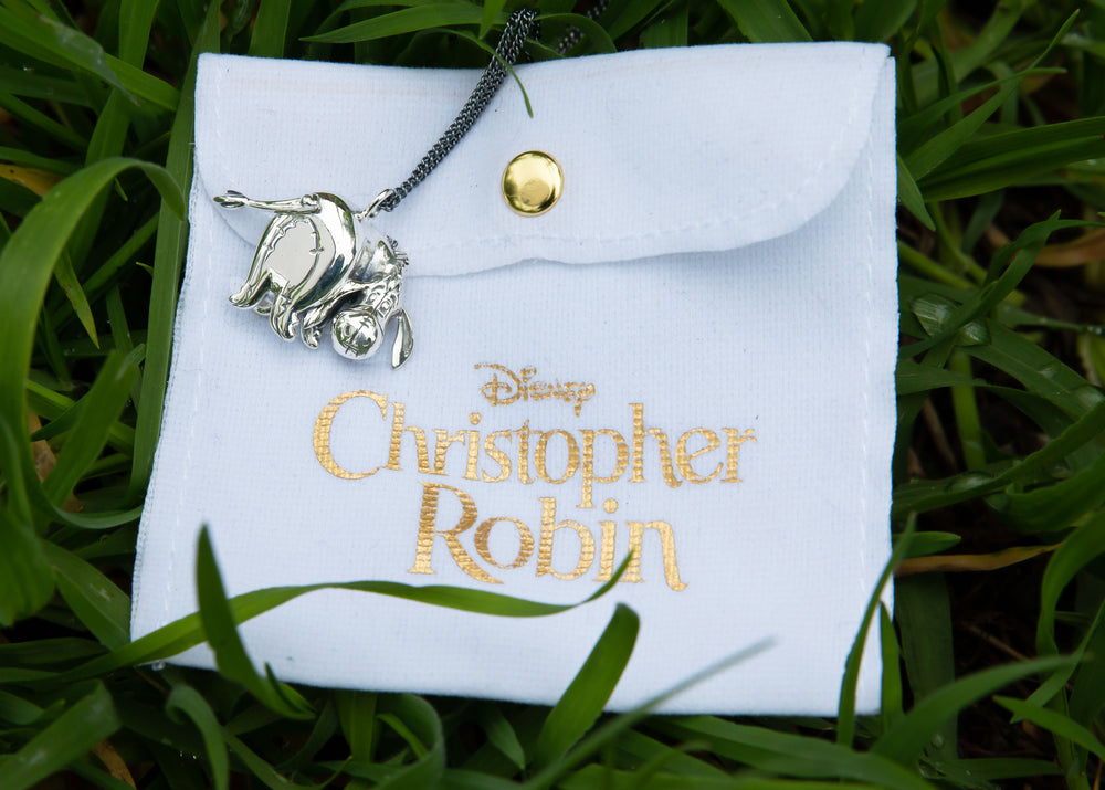 DISNEY'S CHRISTOPHER ROBIN Spinning Eeyore Necklace