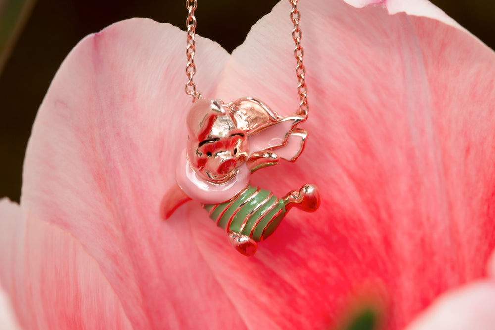 DISNEY'S CHRISTOPHER ROBIN Piglet Slider Necklace