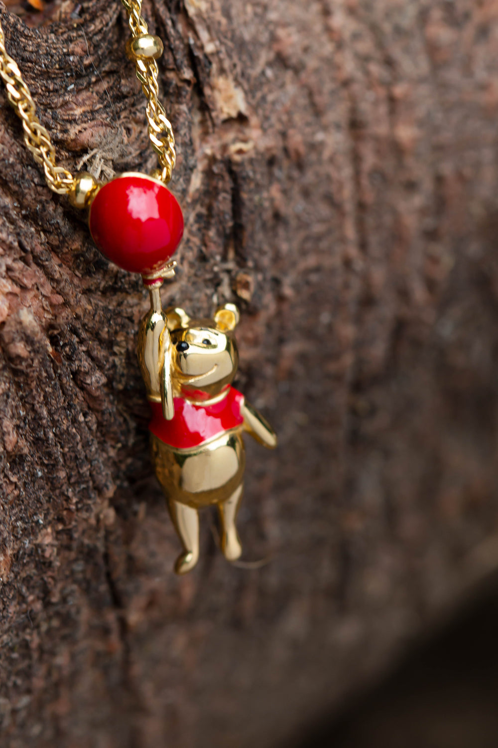 Disney X RockLove CHRISTOPHER ROBIN Winnie the Pooh Balloon Necklace