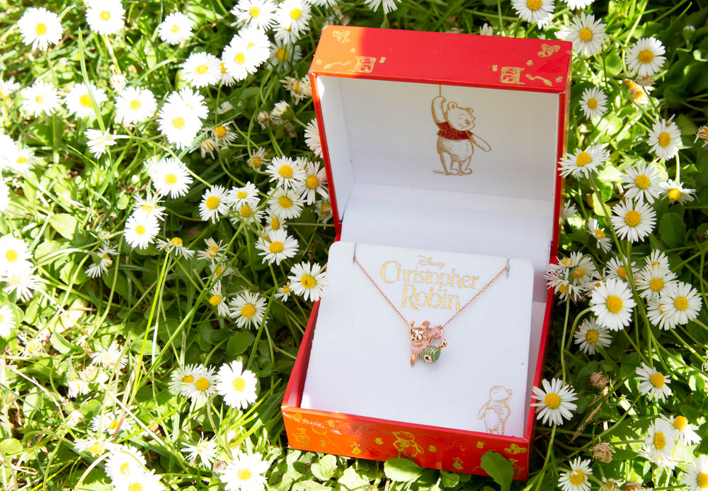 Disney X RockLove WINNIE THE POOH Piglet Slider Necklace