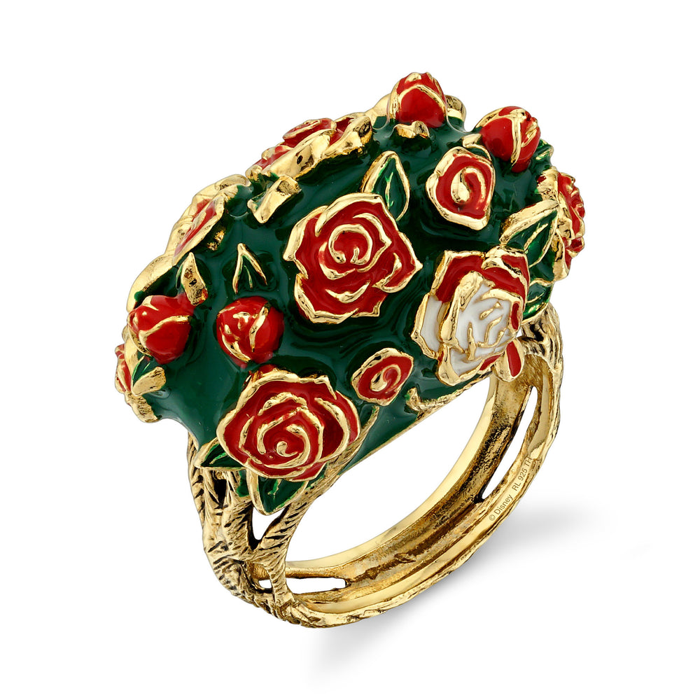 DISNEY'S ALICE IN WONDERLAND Painting the Roses Ring