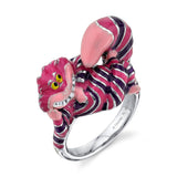 DISNEY'S ALICE IN WONDERLAND Cheshire Cat Enamel Ring