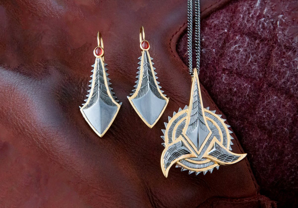 Star Trek X RockLove Klingon Earrings