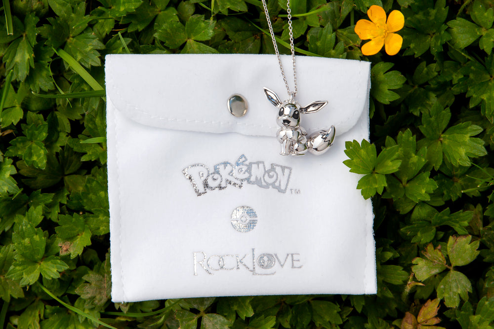Pokemon X RockLove Eevee Necklace
