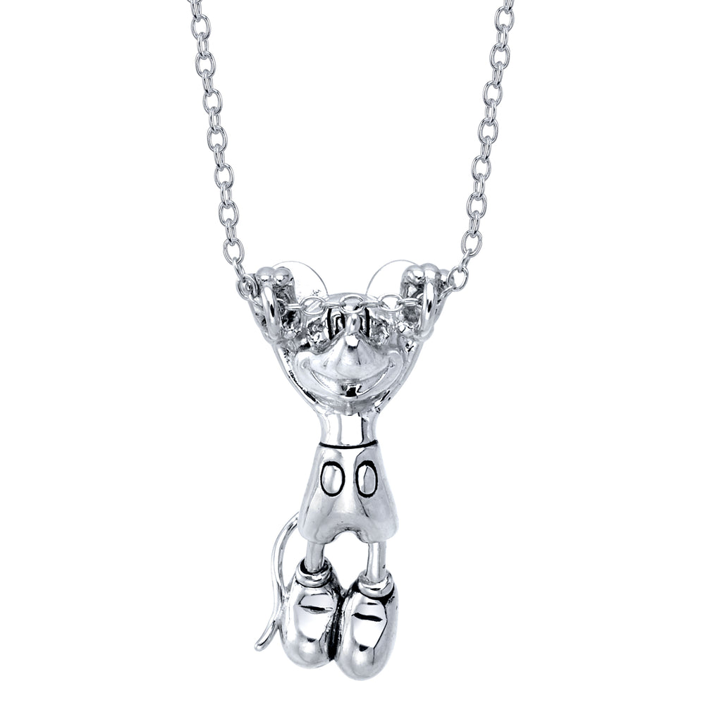 DISNEY'S Hanging Mickey Mouse Necklace