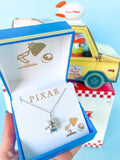 PIXAR X RockLove TOY STORY Alien Necklace