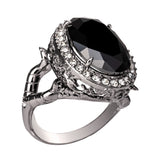 DISNEY'S SLEEPING BEAUTY Maleficent Crystal Ring