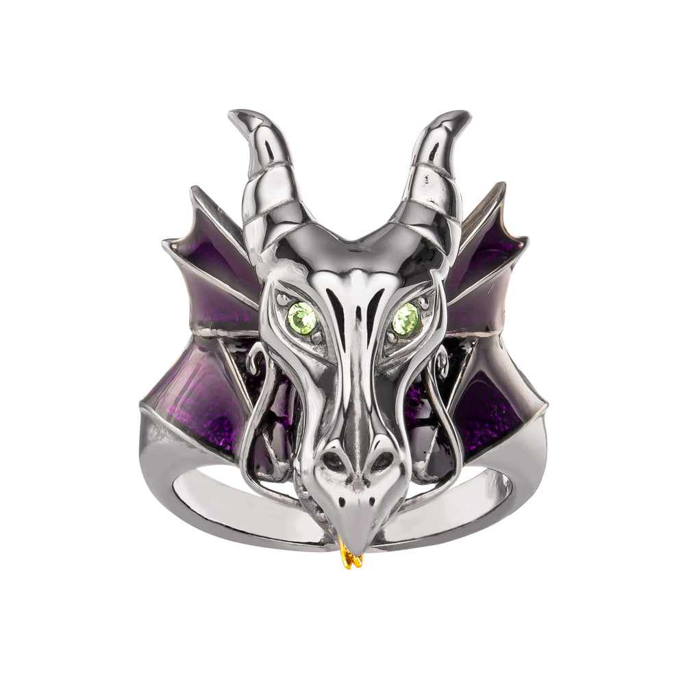 Disney X RockLove SLEEPING BEAUTY Maleficent Dragon Ring