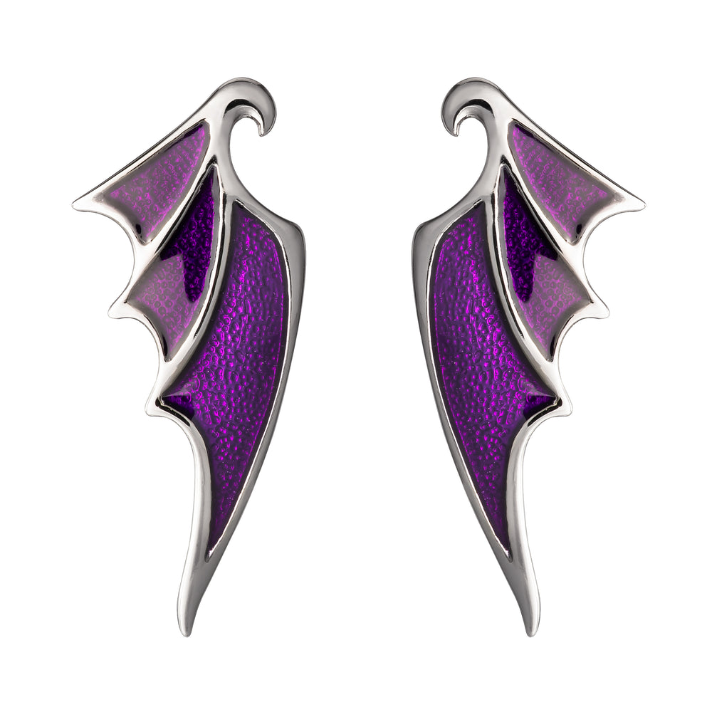 DISNEY'S SLEEPING BEAUTY Maleficent Dragon Wing Earrings
