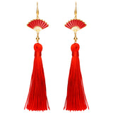 DISNEY'S MULAN Honor Tassel Earrings
