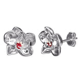 DISNEY'S MULAN Plum Blossom Stud Earrings
