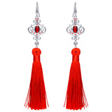 DISNEY'S MULAN Wisdom Tassel Earrings