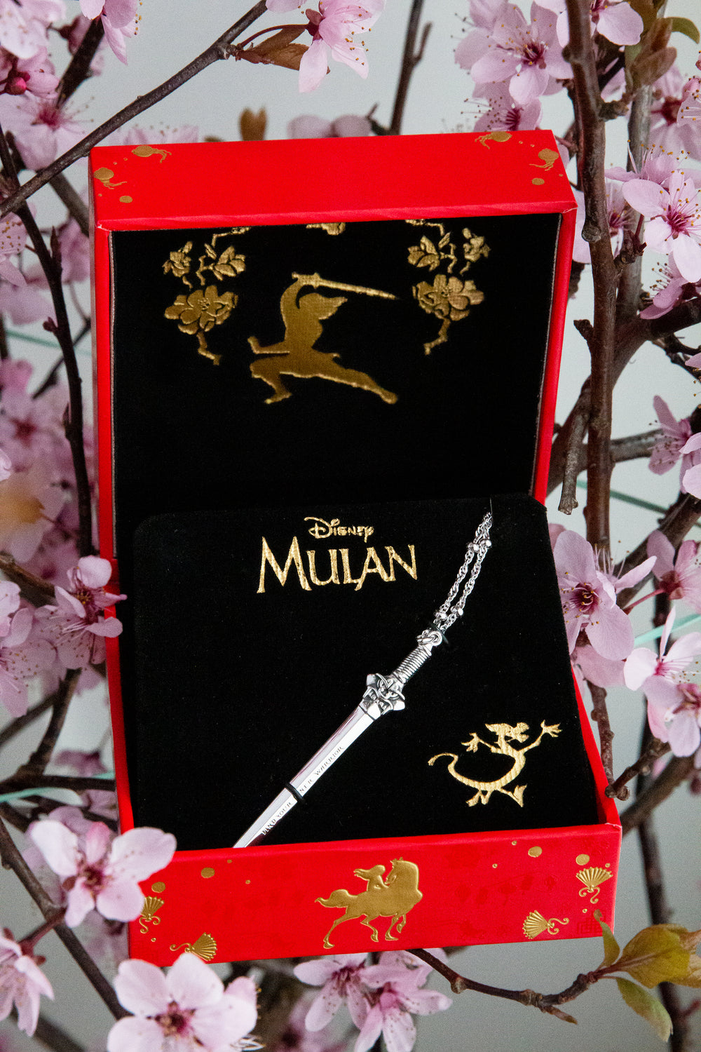 DISNEY'S MULAN Sword Necklace