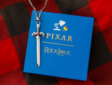 PIXAR'S ONWARD Sword Necklace