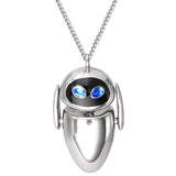 PIXAR X RockLove WALL-E Articulated EVE Necklace
