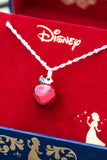 DISNEY'S SNOW WHITE & THE SEVEN DWARFS Fairest Apple Necklace