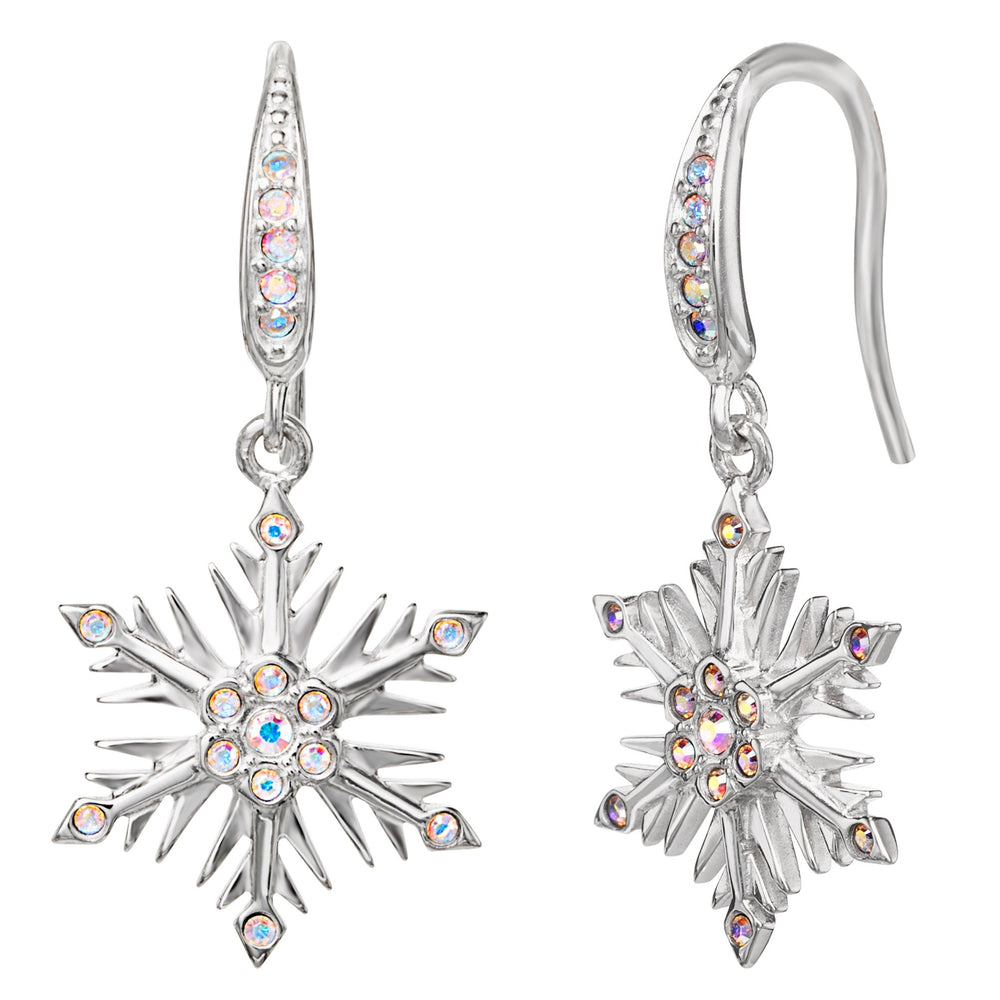 Disney X RockLove FROZEN Crystal Snowflake Earrings