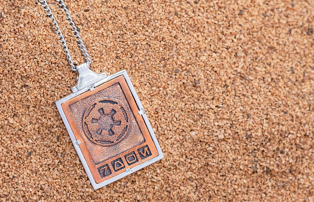 Star Wars™ | RockLove Imperial Credit Necklace - Rose Gold