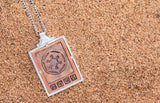 Star Wars | RockLove Imperial Credit Necklace - Rose Gold