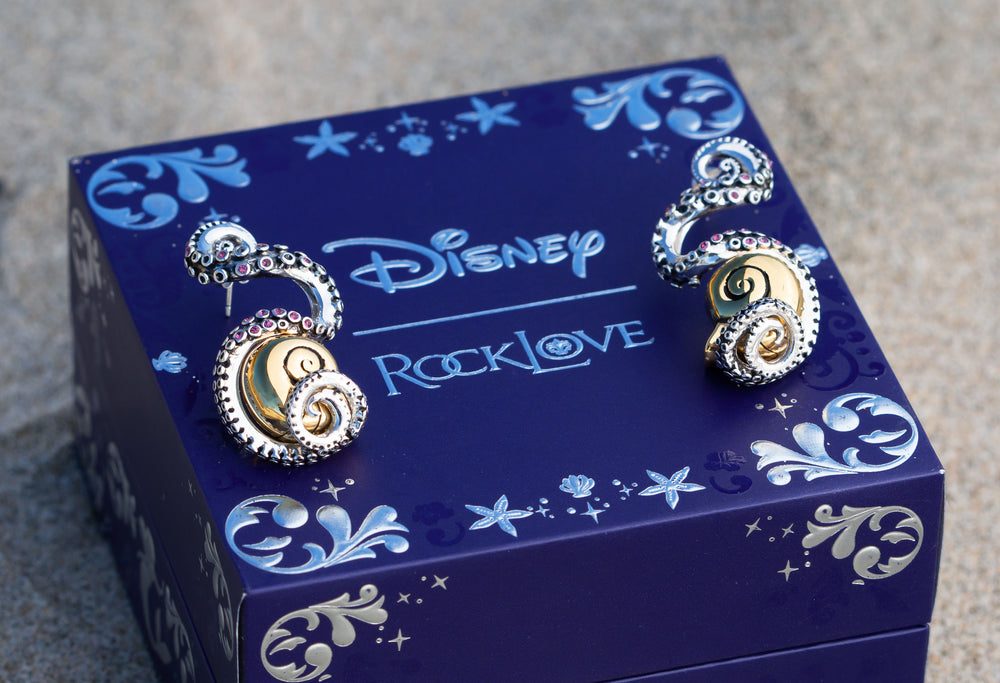 DISNEY'S THE LITTLE MERMAID Tentacle Earrings – Posts