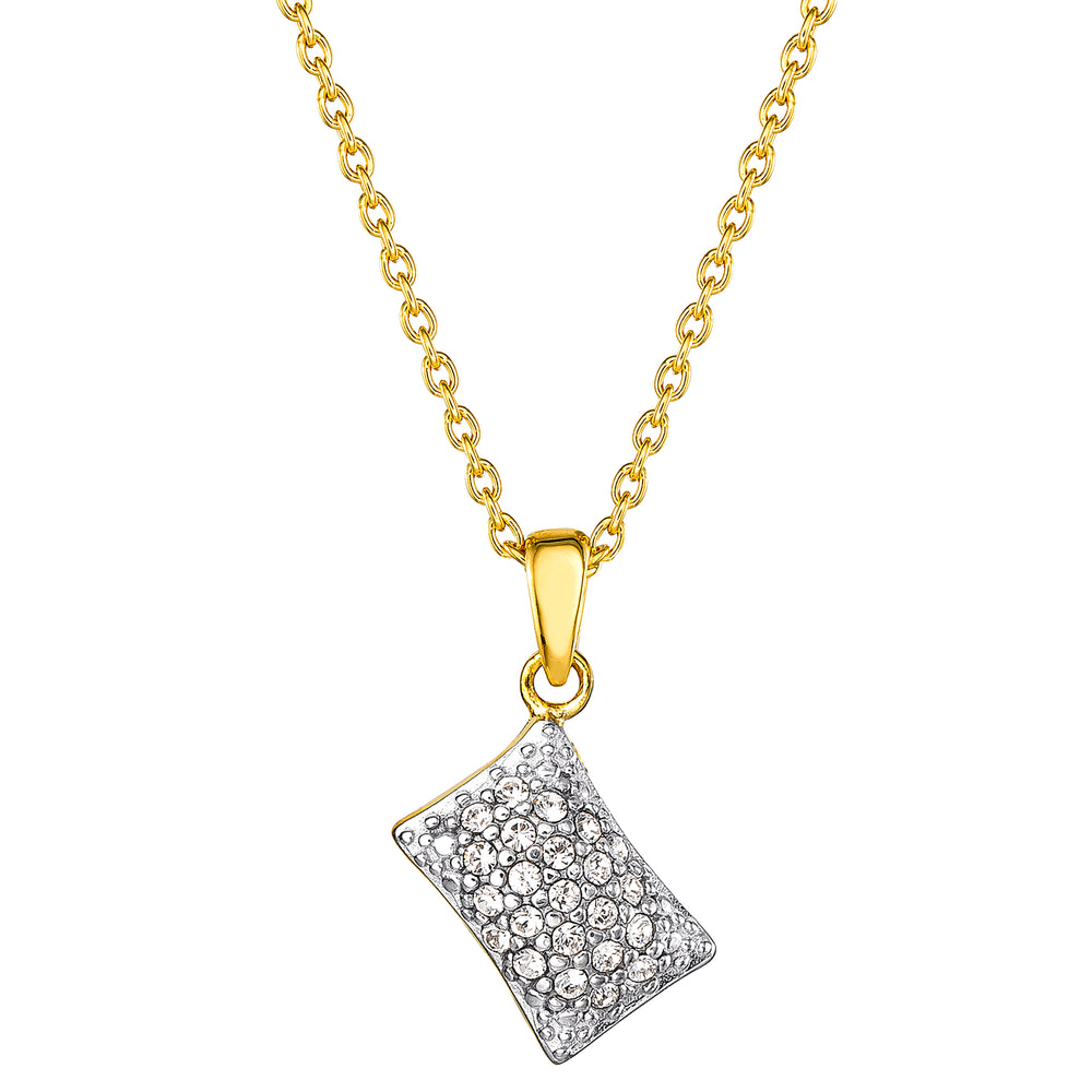 DISNEY'S THE PRINCESS AND THE FROG Pave Beignet Pendant