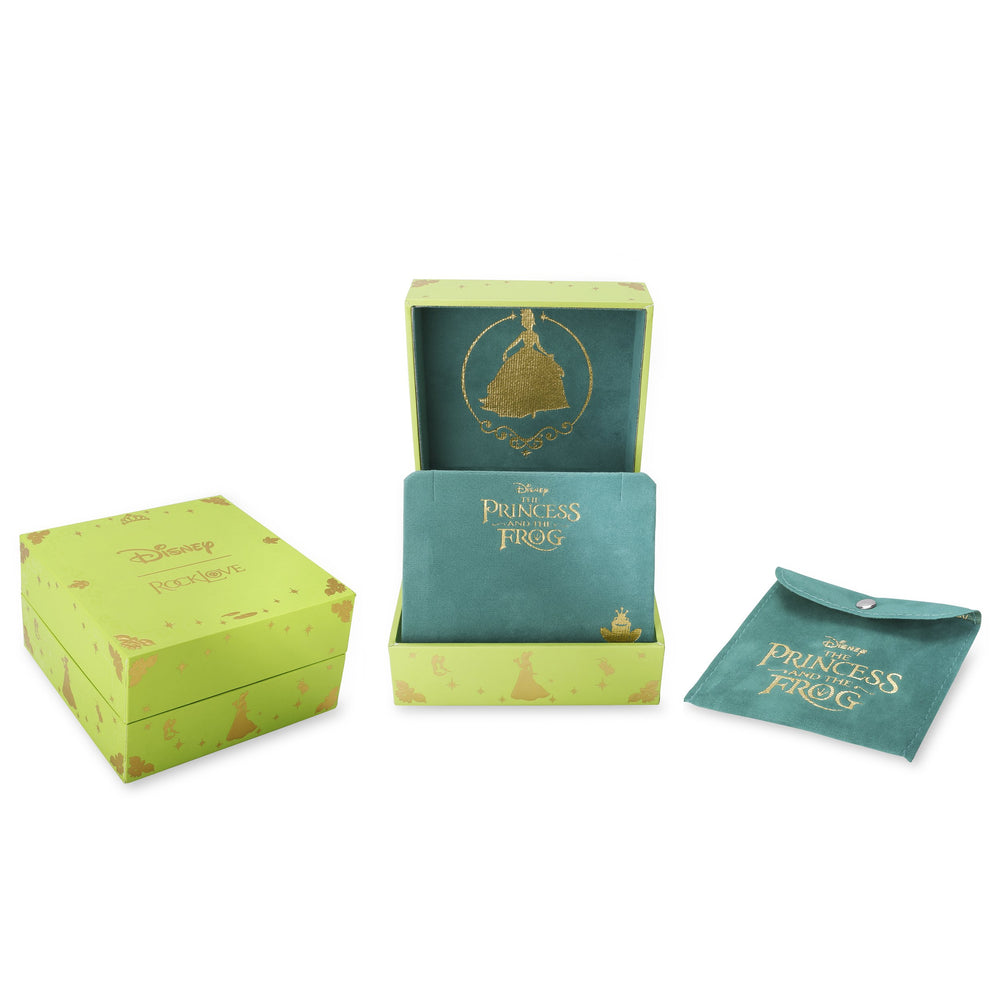 DISNEY'S THE PRINCESS AND THE FROG Water Lily Pearl Necklace