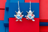 Pokémon X RockLove Togepi Earrings