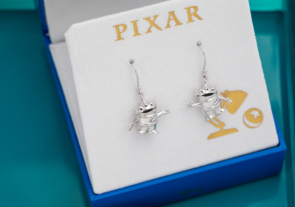 PIXAR X RockLove TOY STORY Alien Earrings