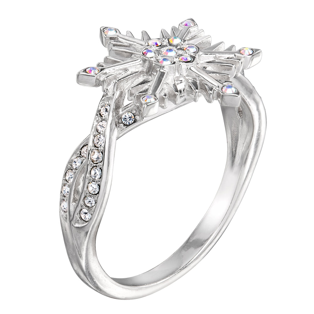 DISNEY'S FROZEN 2 Crystal Snowflake Ring