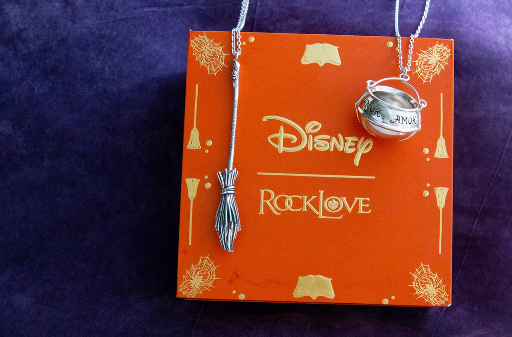 DISNEY'S HOCUS POCUS Broom Necklace