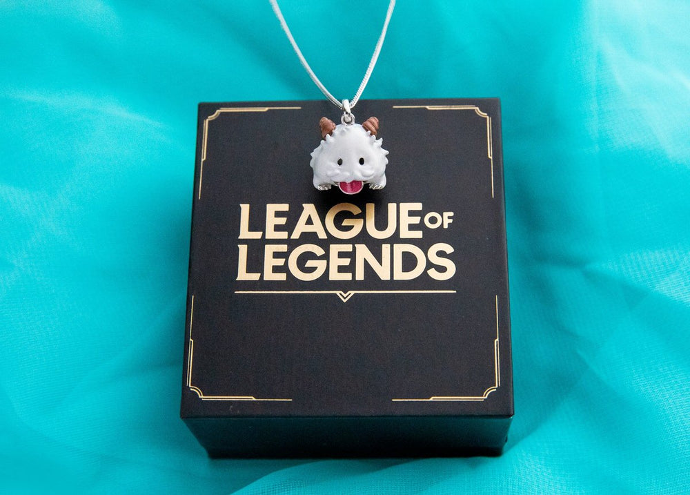 League of Legends X RockLove Wiggly Tongue Poro Necklace