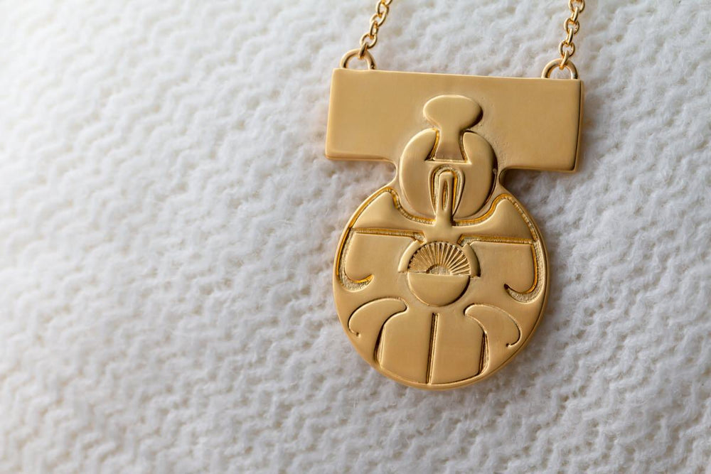 Star Wars | RockLove Medal of Yavin Necklace