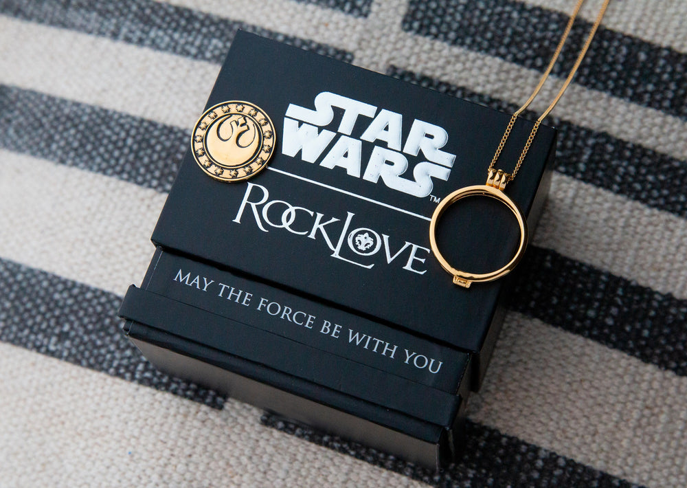 Star Wars™ | RockLove New Republic Credit – Yellow Gold