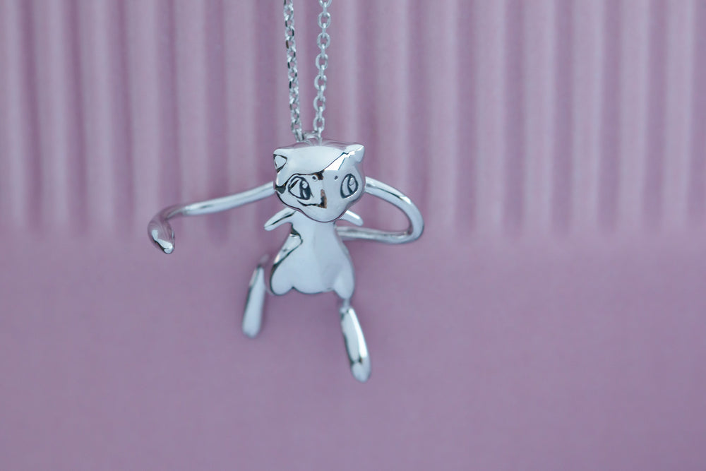 Pokémon X RockLove Mew Necklace